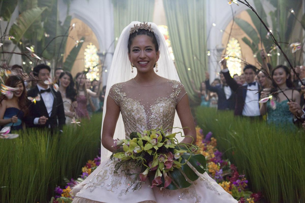 Sonoya Mizuno makes a gorgeous bride in  Crazy Rich Asians