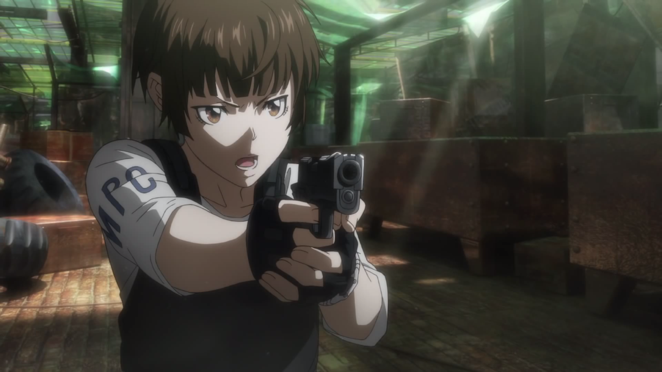 Inspector Akane Tsunemori, the main character of Psycho-Pass