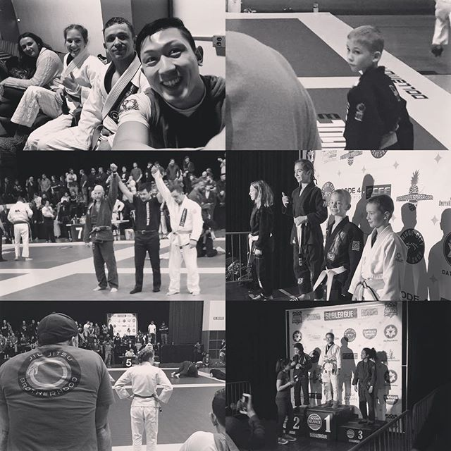 Another great tourney experience in the books! I seriously dig these people! Excellent work team. #bjj #jiujitsu #oregon