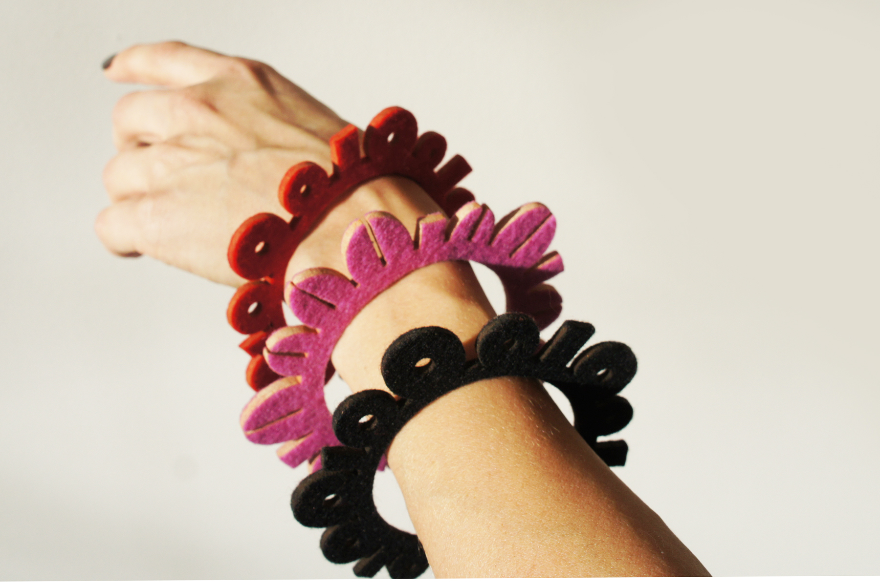 Binary Bracelets Set of 3 on wrist copy.jpg