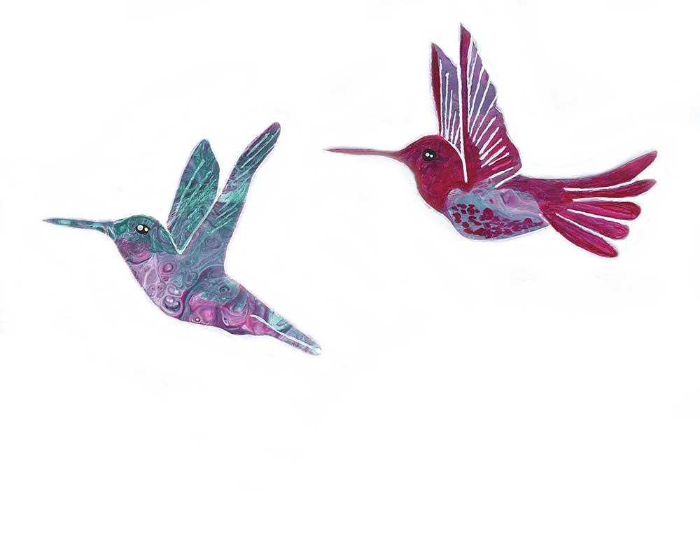 Spirit Hummingbirds