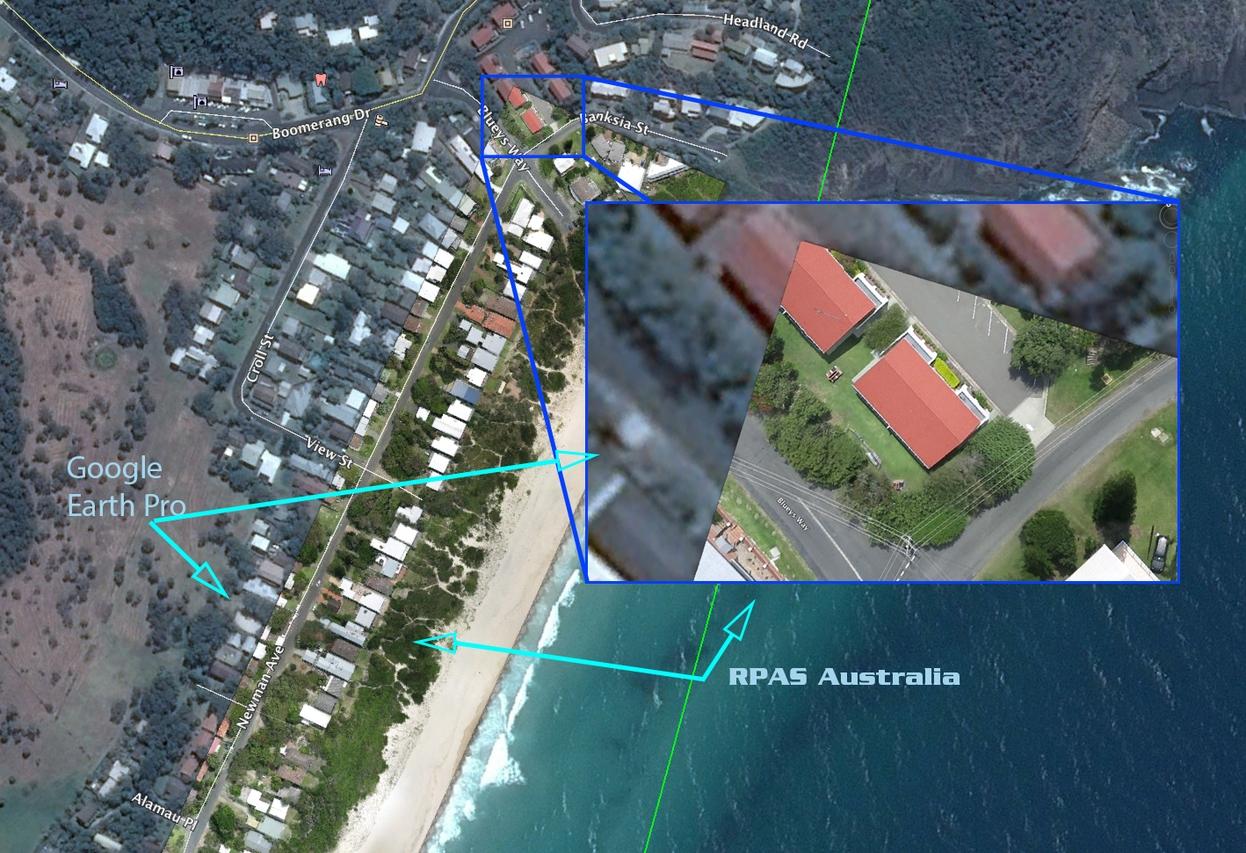 Google Earth Tile