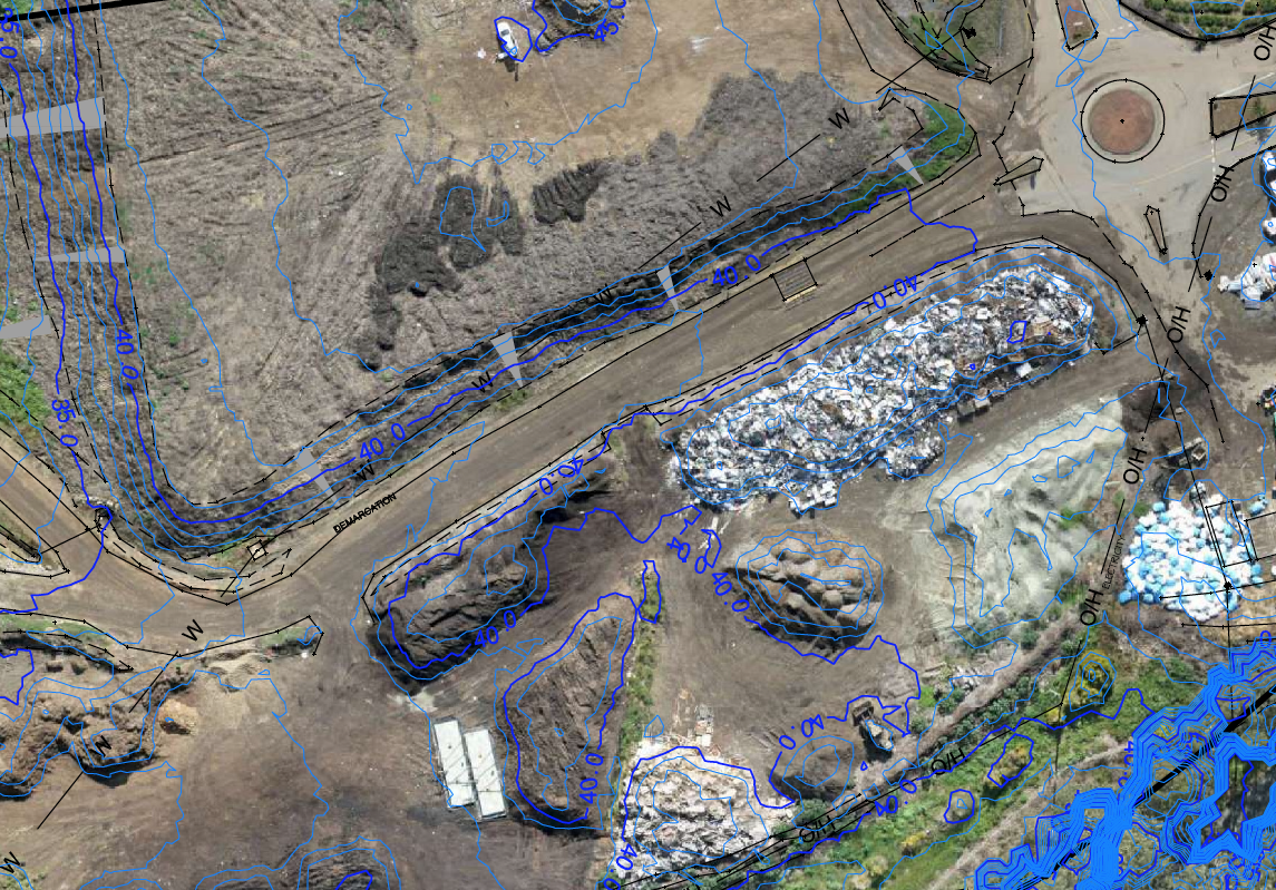 Photogrammetry Orthographic - Drafting courtesy of Lidbury Summers & Whiteman surveyors (Forster,NSW)