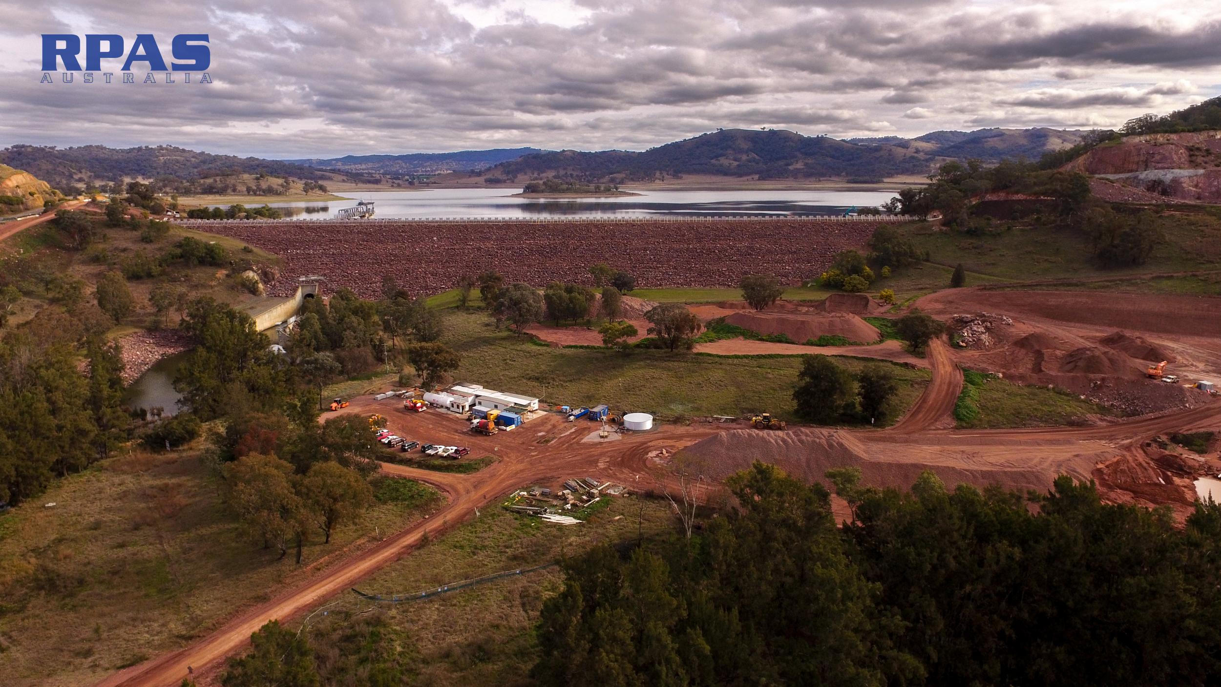 dam infrastructure