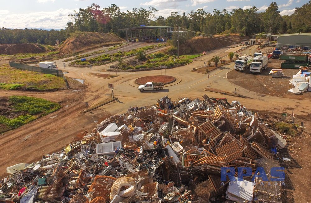 Drone Survey for Landfill Waste Management