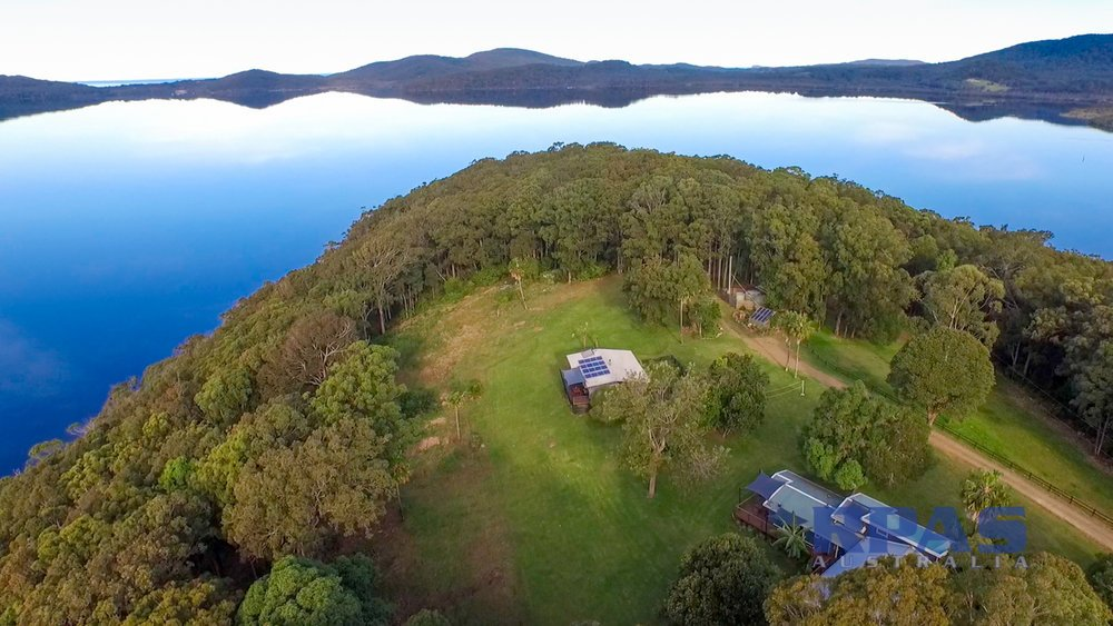Drone footage for property promotion