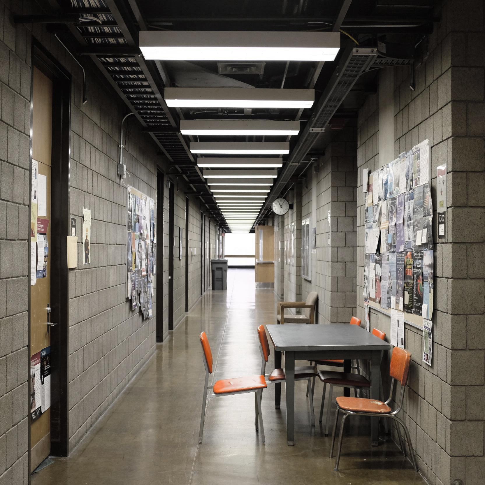 """Concrete torture chamber"" - Wean Hall (Seventh floor)"