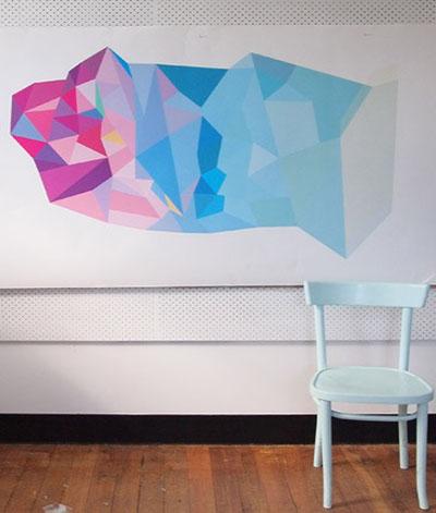 Andrew O'Brien Geometric Artwork.