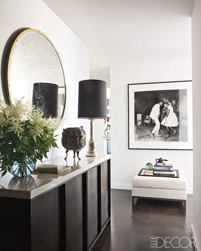 The stunning entry way immediately gives the feeling of home.