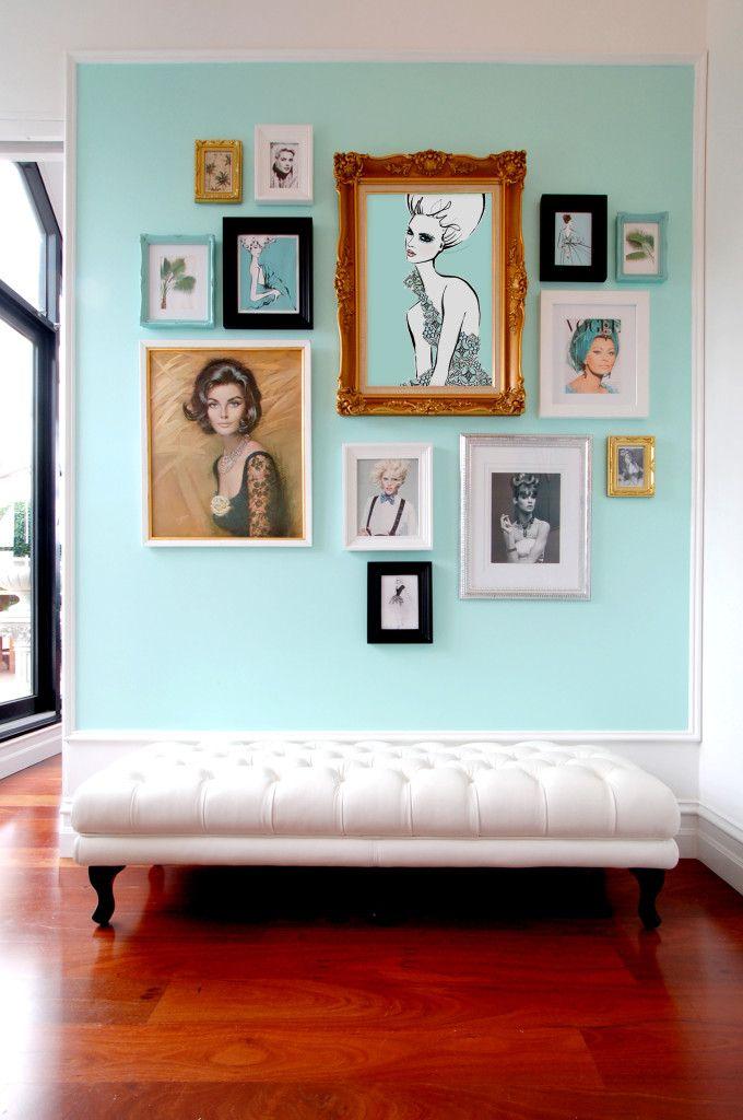 The amazing home of illustrator Megan Hess.