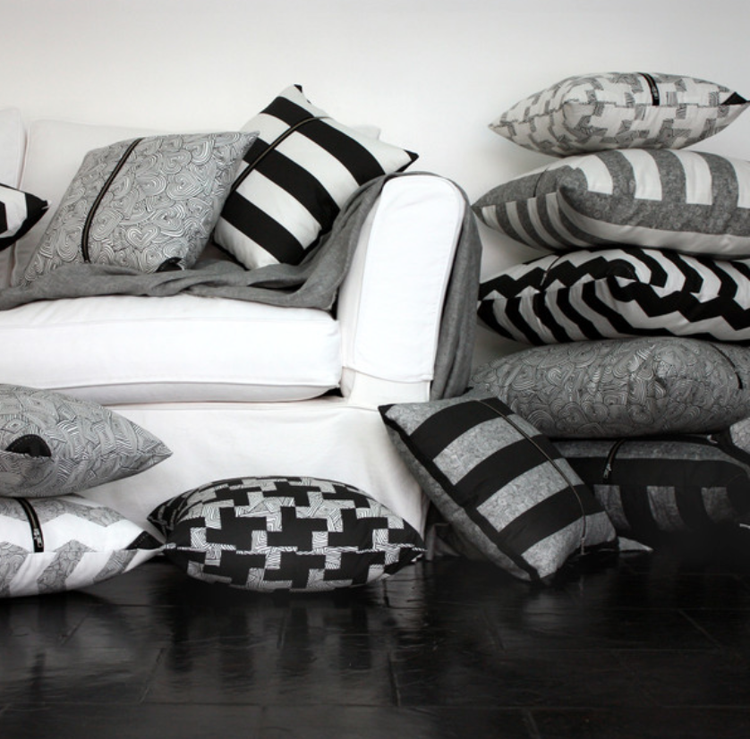A huge range of patterns and colours available in cushions & bags. so many amazing patterns to choose from!
