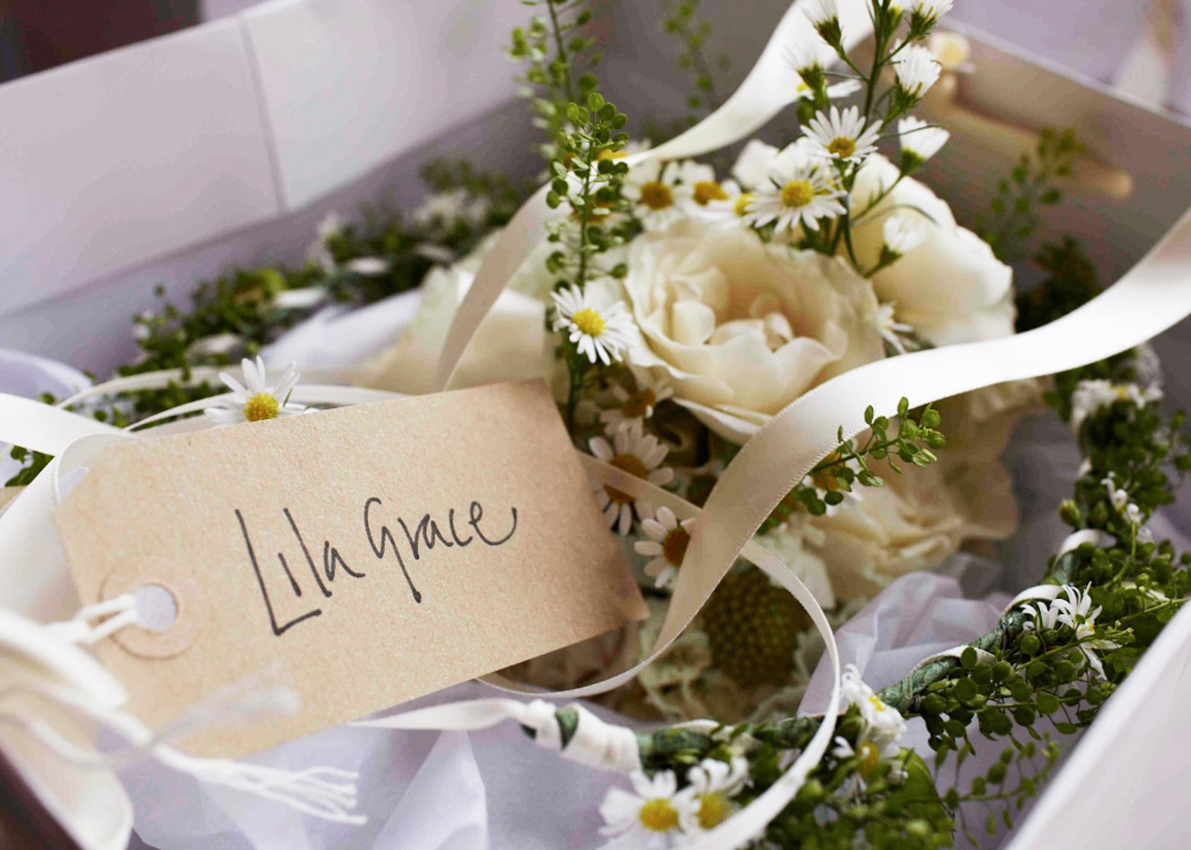 Lila Grace's Bouquet.
