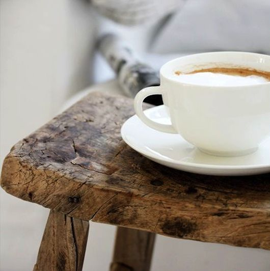 Raw Timber & Hot Coffee