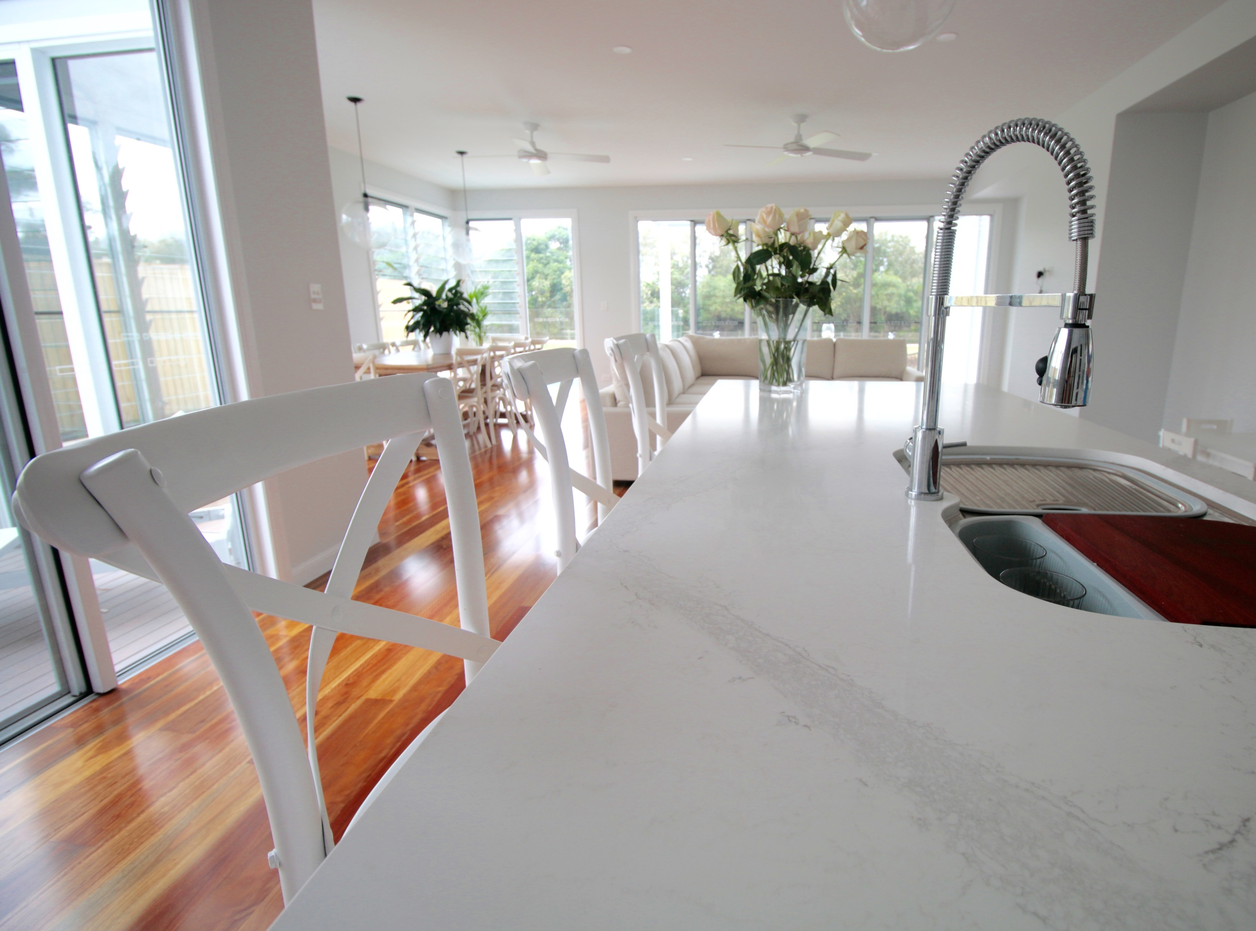 Interior Photography & Styling Private Residence - Casuarina, NSW   Colour Consultant - Sonya Romeo,  Lee & Allan Design