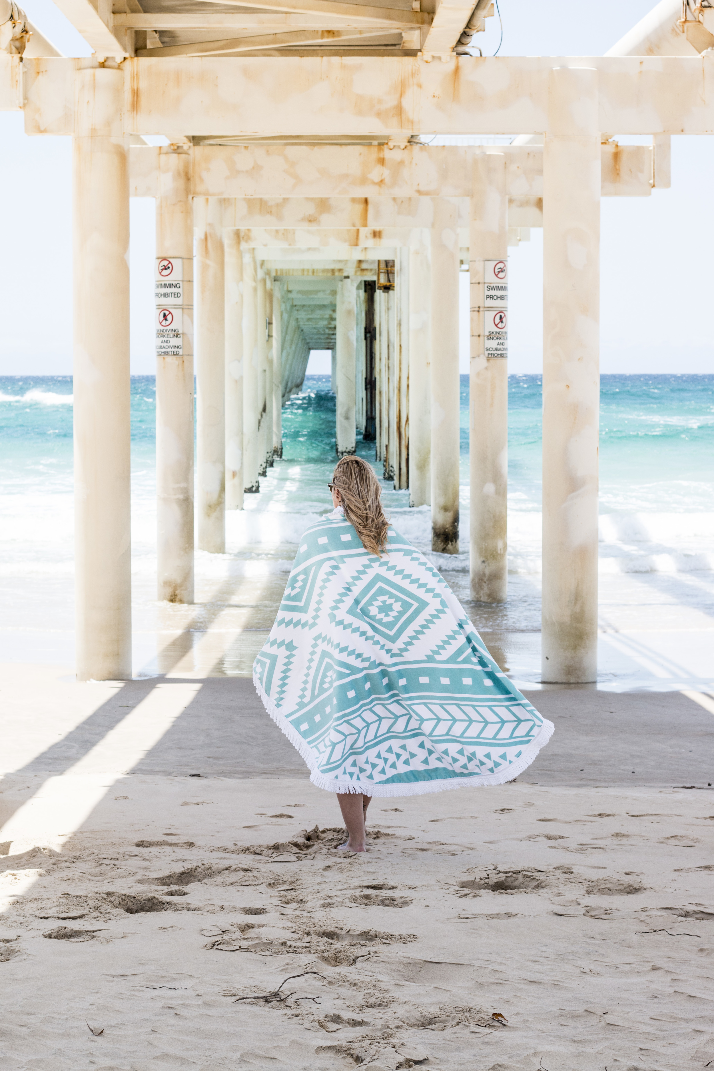 Product/Lifestyle Photography & Styling    Roundie Towel - Sococo Skincare