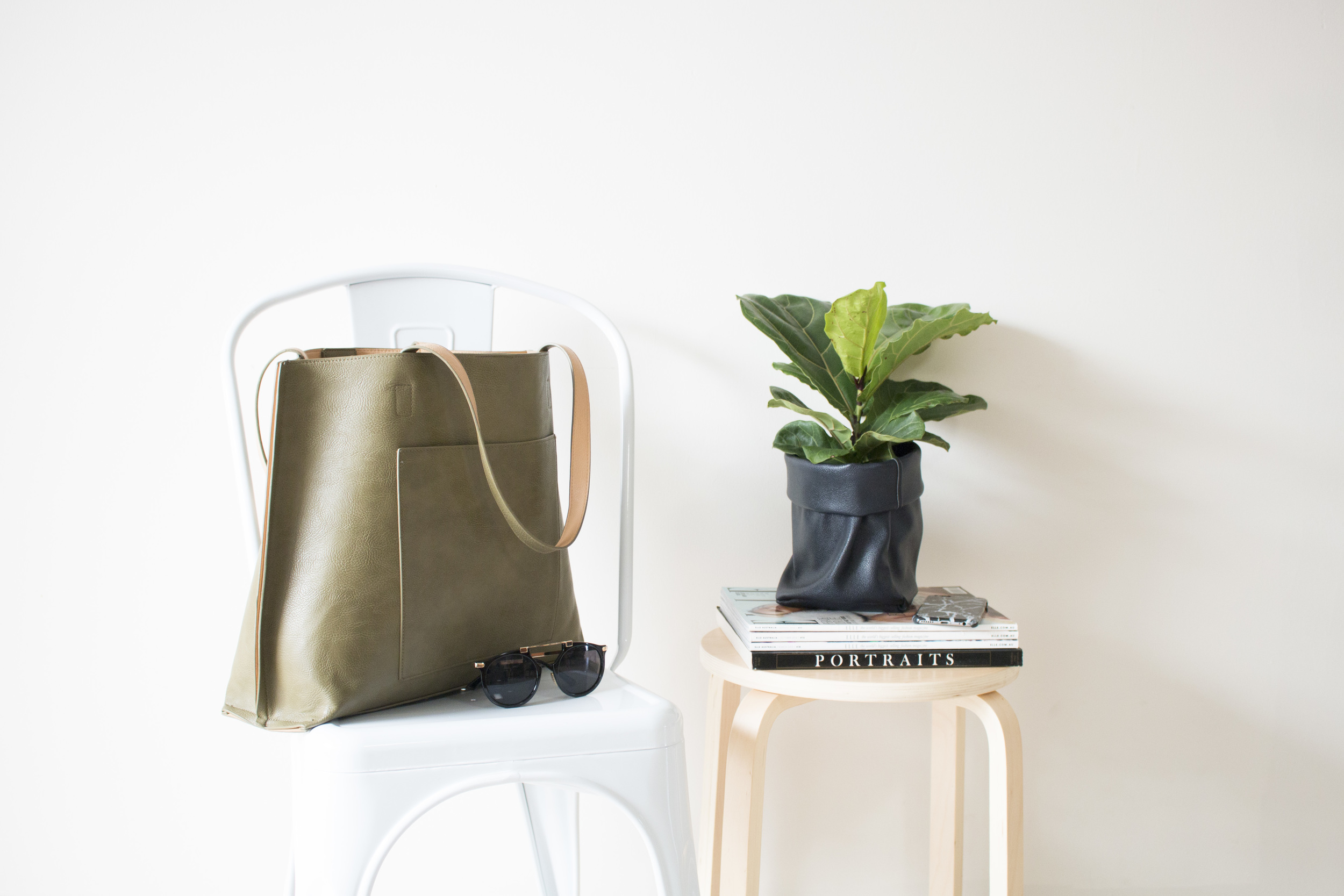 Product Photography & Styling Bag, Sunglasses & Pot Pouch - Spencer Street Store