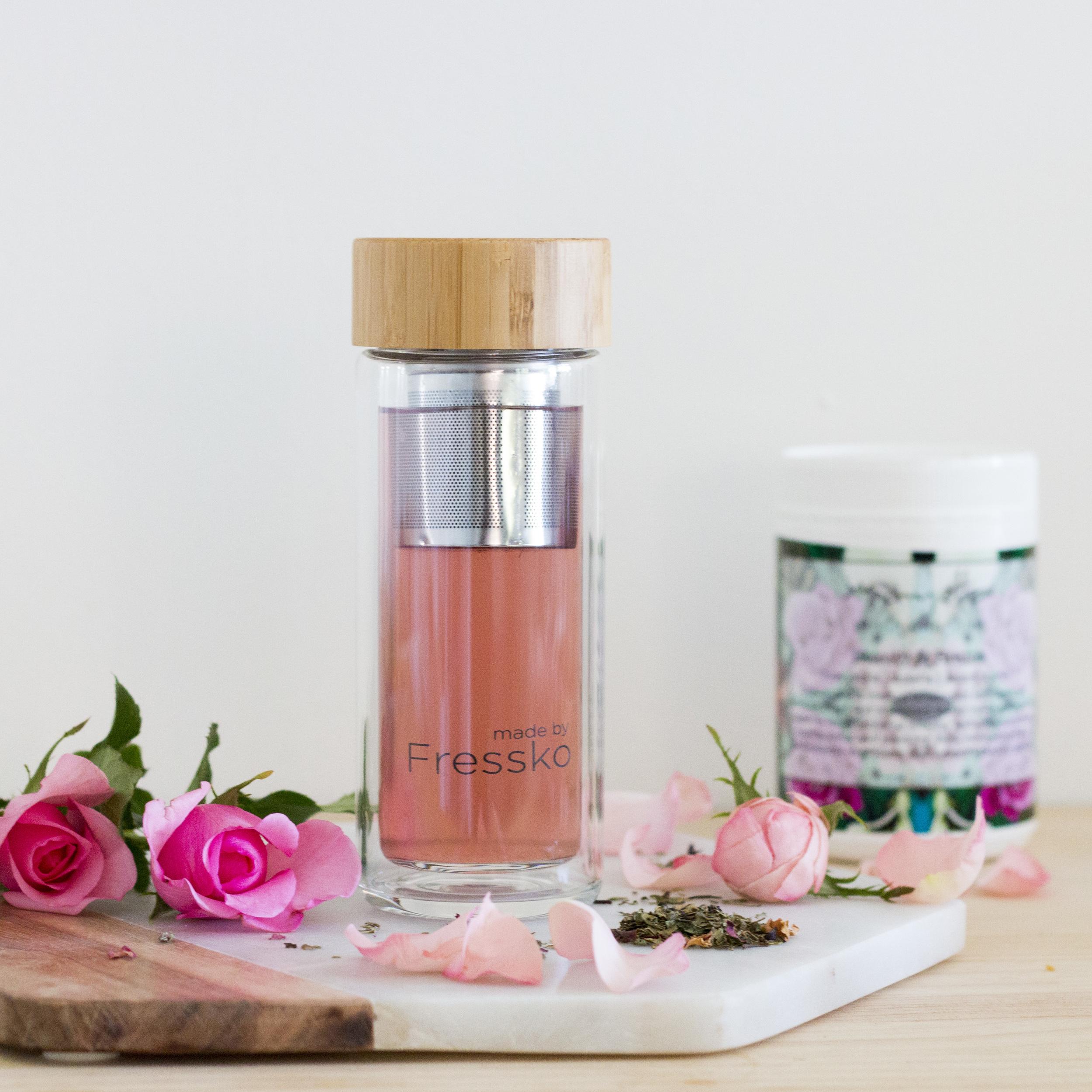 Product Photography & Styling Herbal Tisane -  Mayella Organics  Bottle -  Made by Fressko