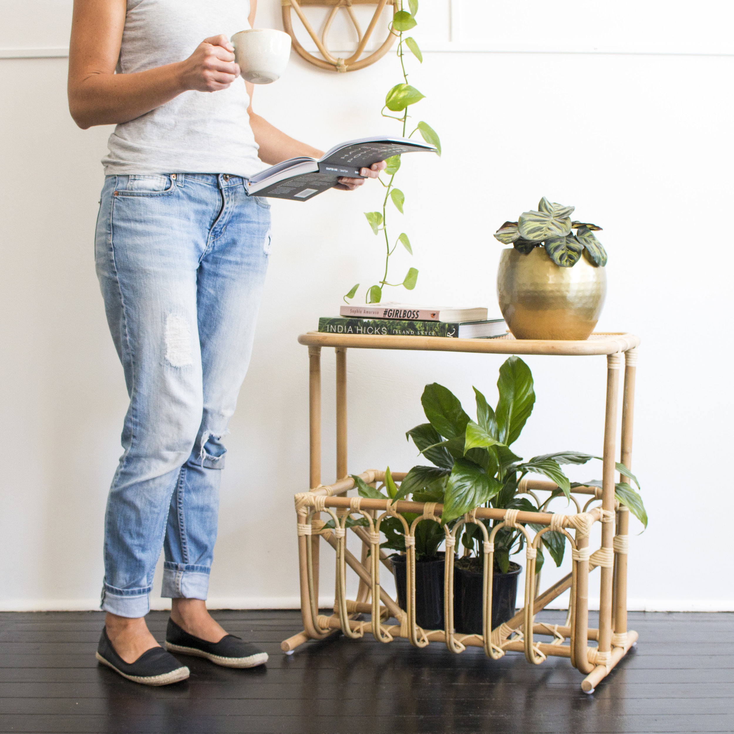 Product Photography & Styling Side table and shelf - Au Fait
