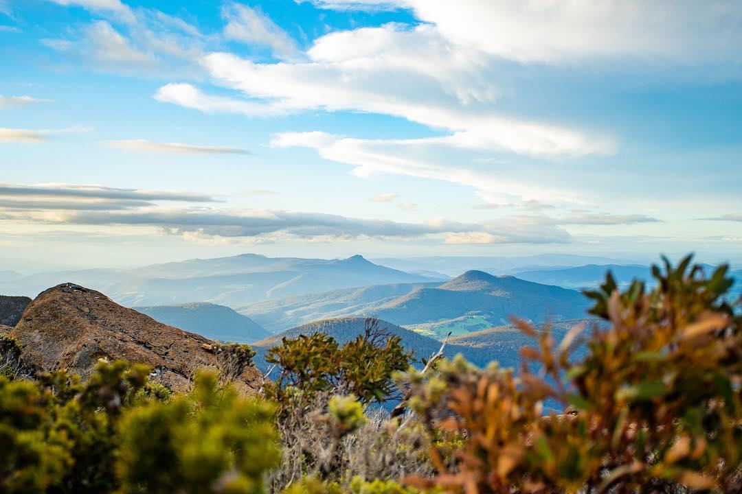 Mountain Layers, Mt wellington,Tasmania