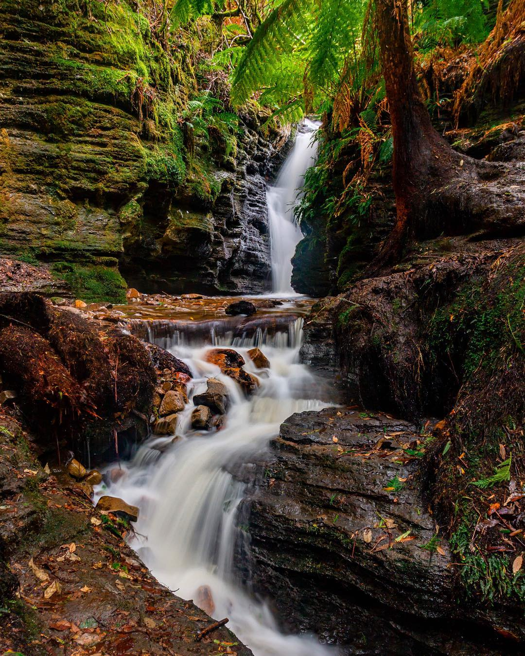 Secret Falls, Hobart, Tasmania