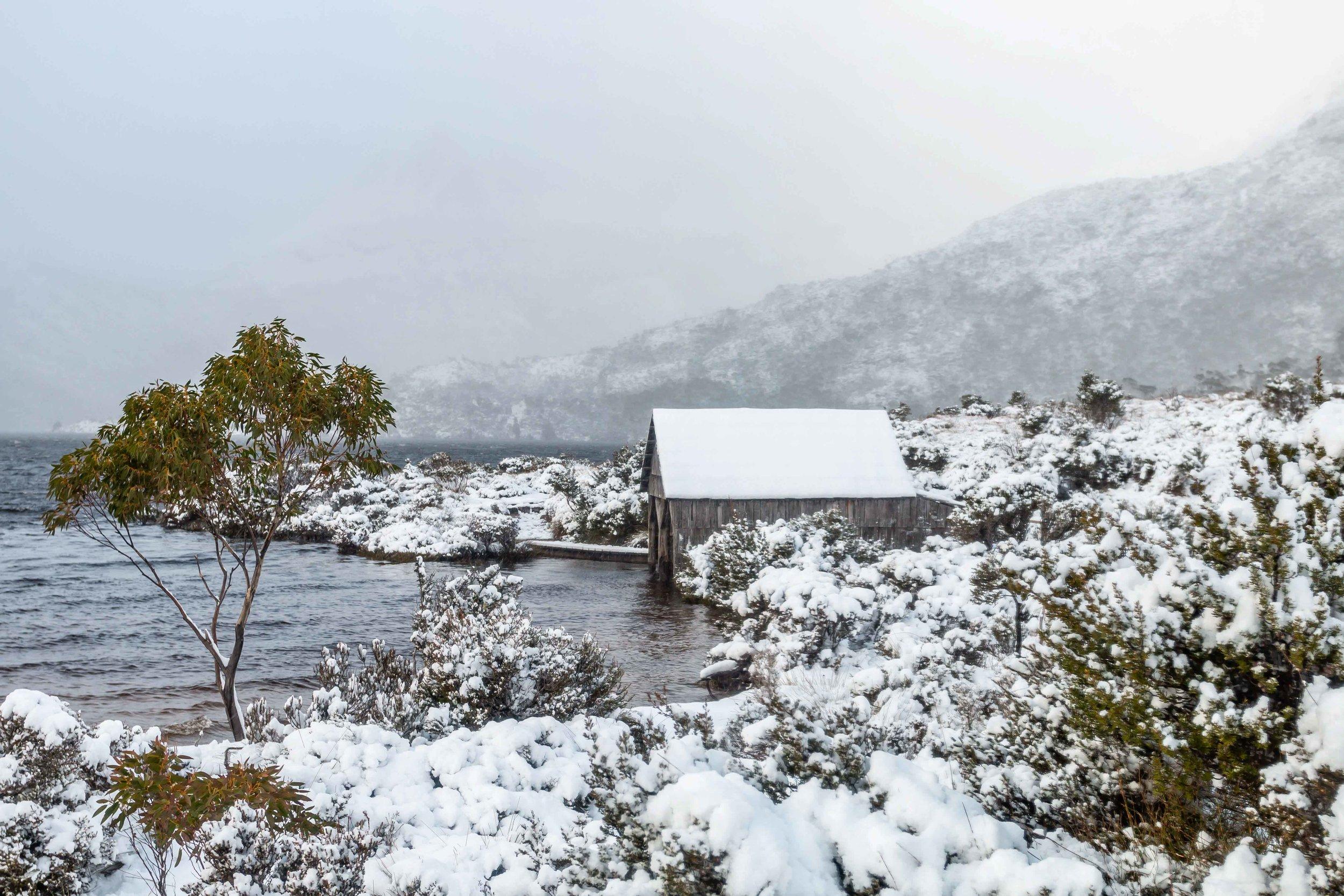 Dove Lake Winter, Cradle Mountain, Tasmania