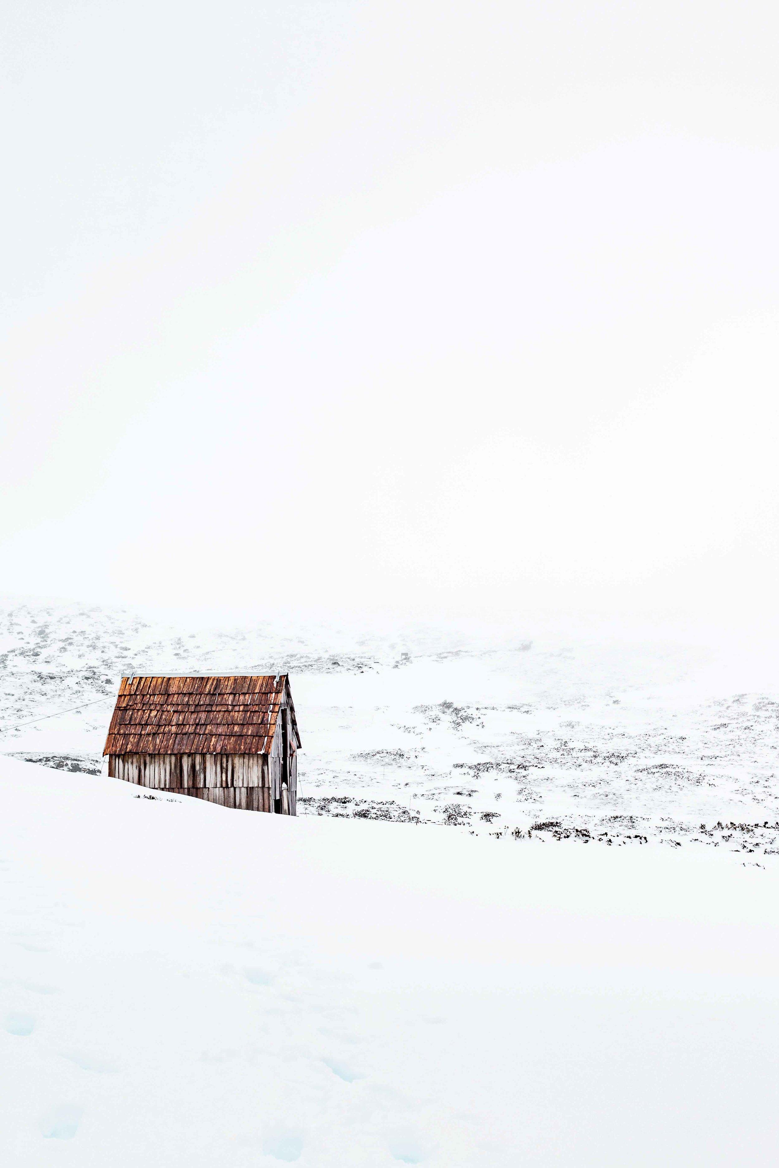 Snow Hut, Cradle Mountain, Tasmania