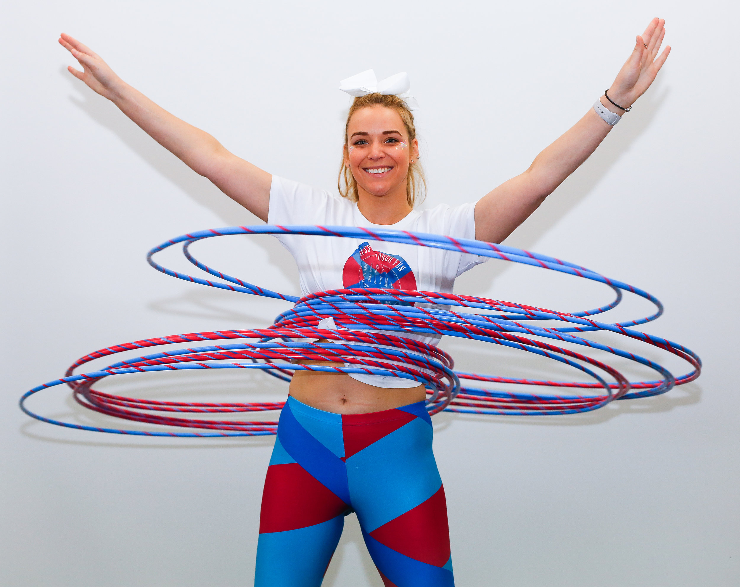 How many hoops? - Go to our instagram to guess how many hoops Kaitlyn spun??