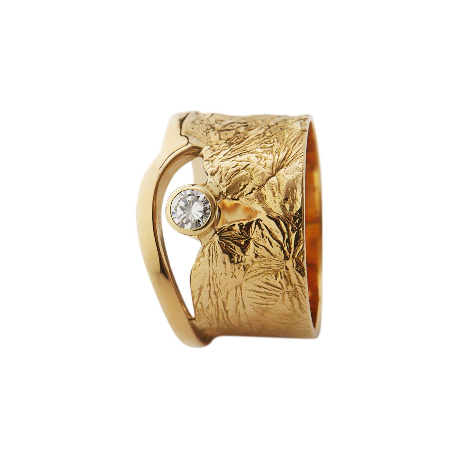 Geel Goud 18 K Diamant