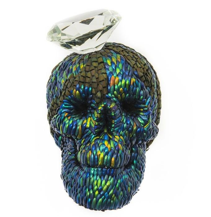 Jan Fabre / Diamond Skull / 2013