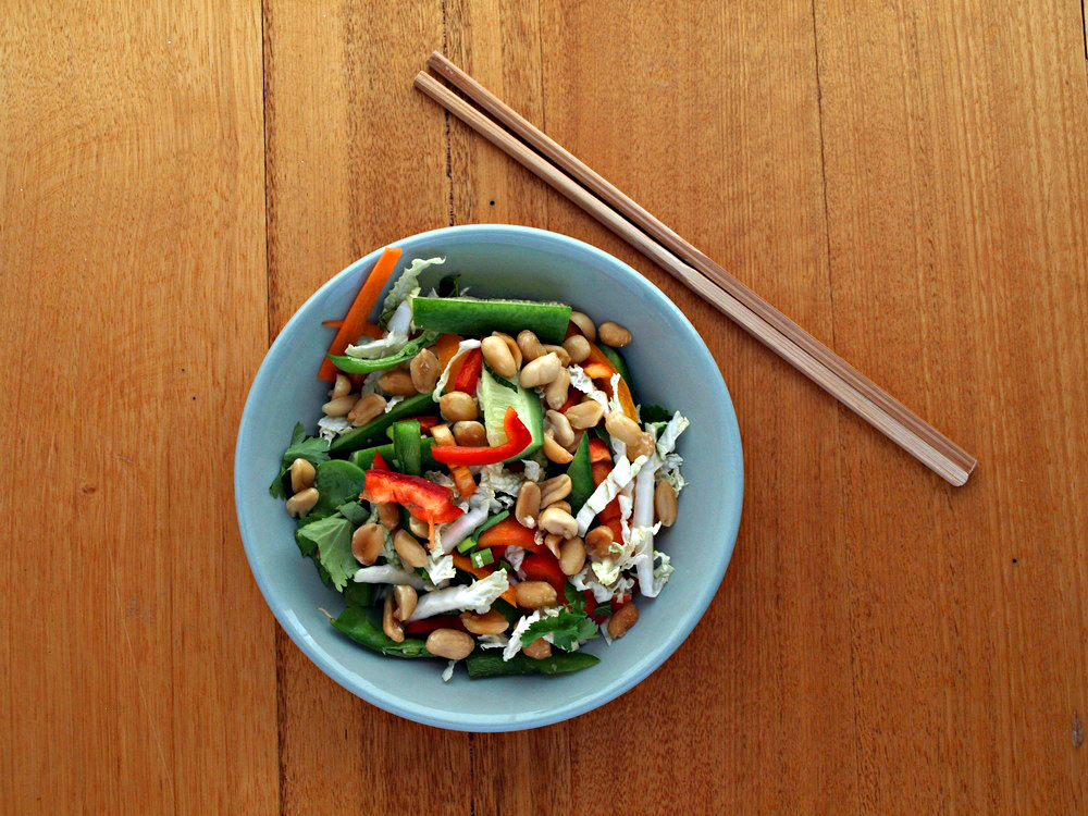 wong bok salad