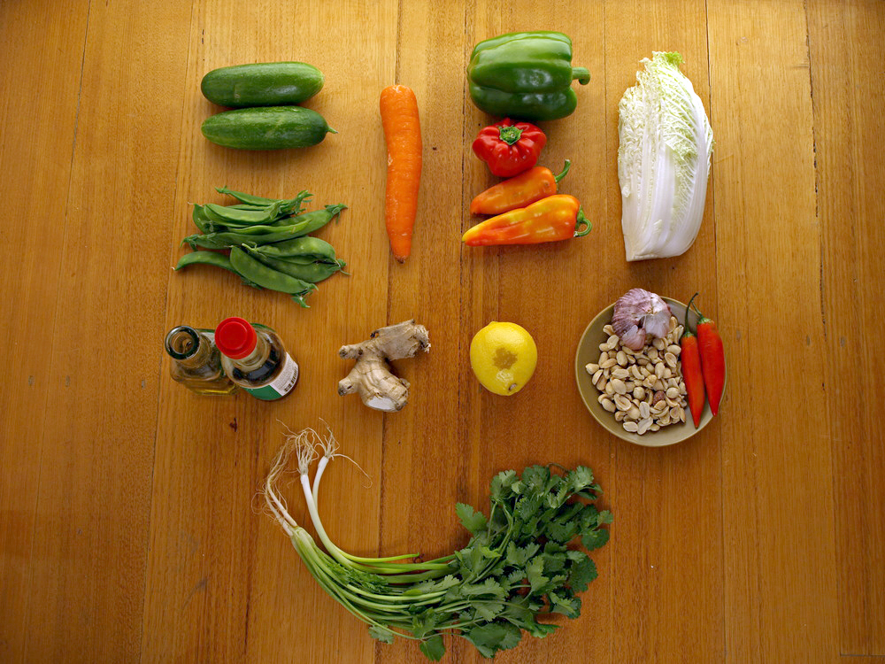 wong bok salad ingredients