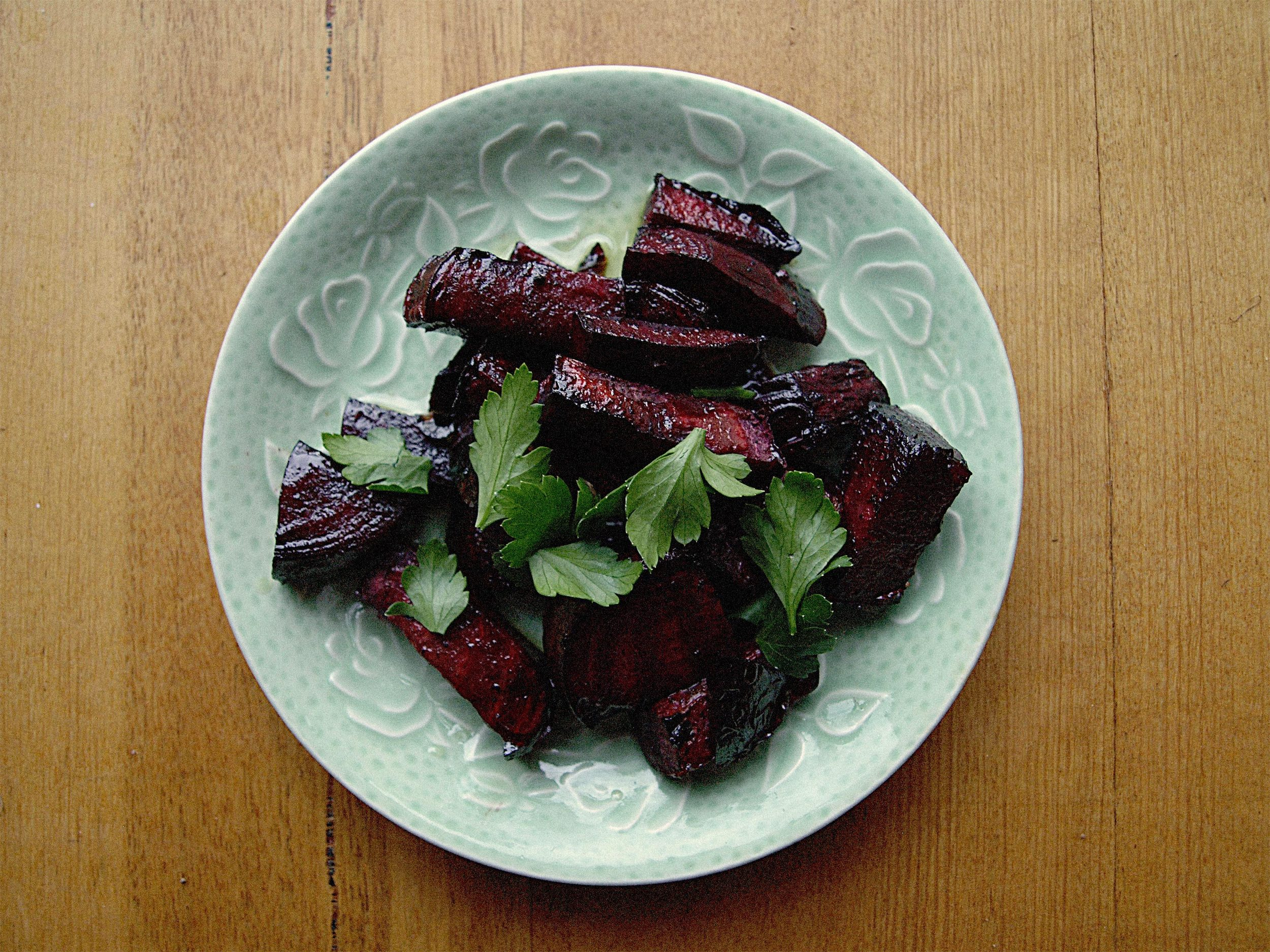 Balsamic Roast Beetroot