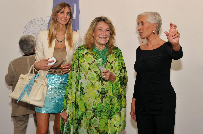 Marta Marzotto and Chiara Boni