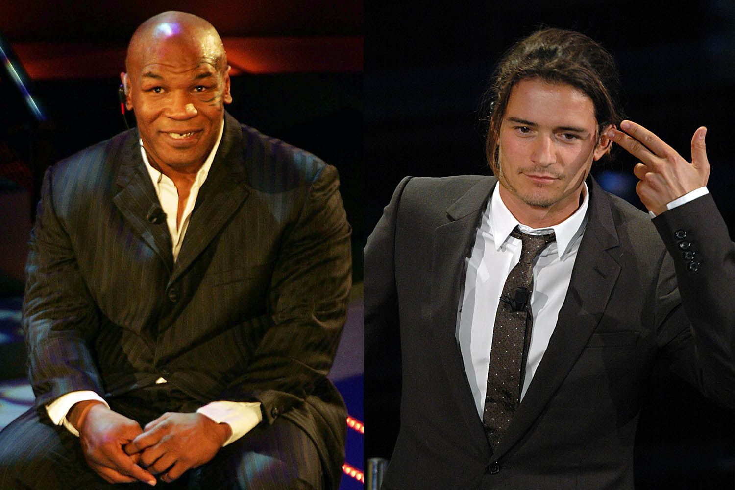 Mike Tyson - Orlando Bloom