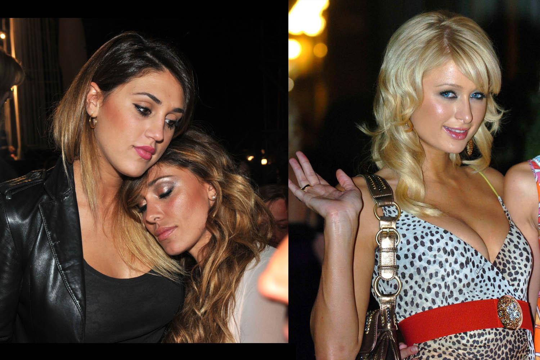Rodriguez sisters - Paris Hilton