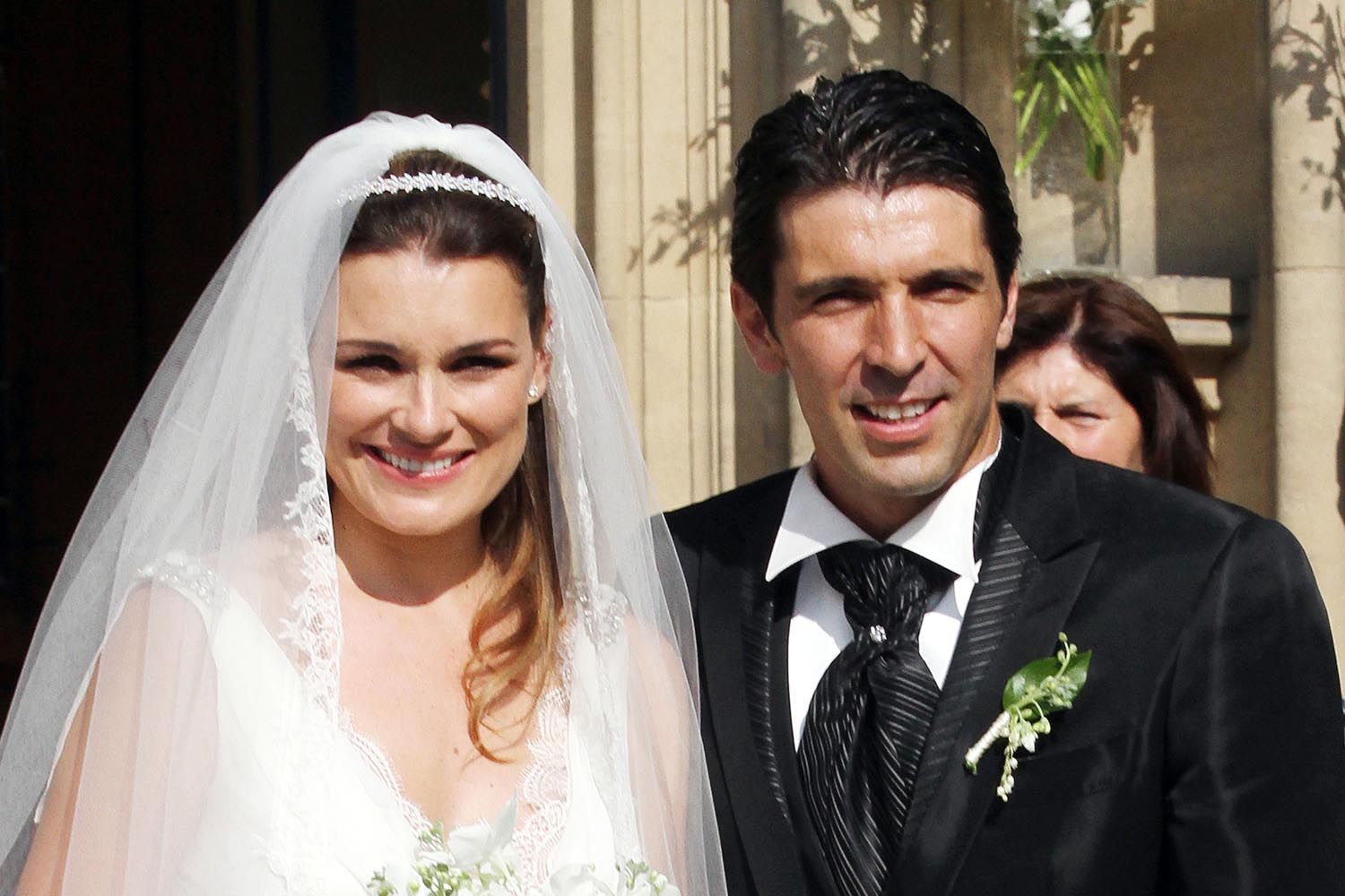 Alena Seredova and Gigi Buffon