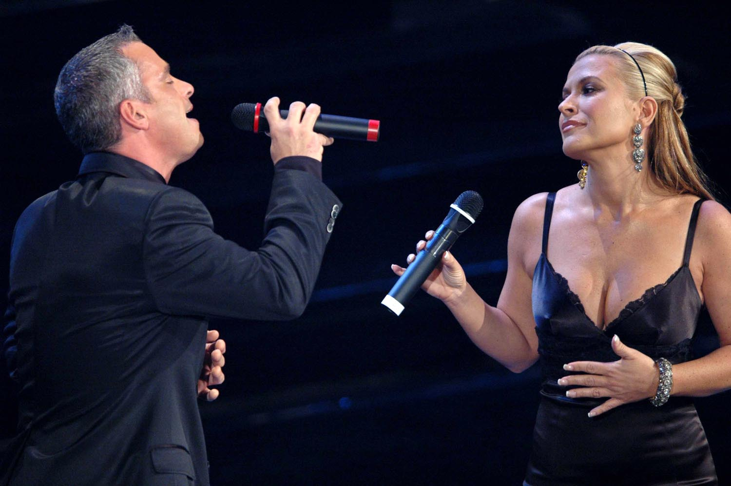 Eros Ramazzotti and Anastacia