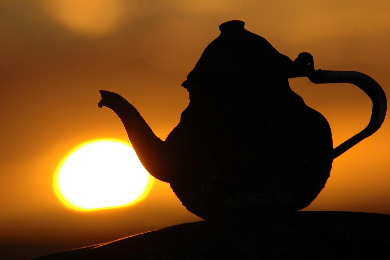 Tea in the desert, Egipt