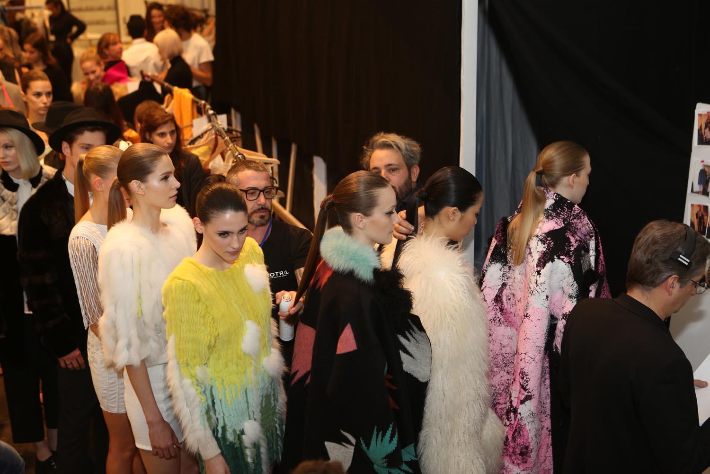 Vogue fashion show