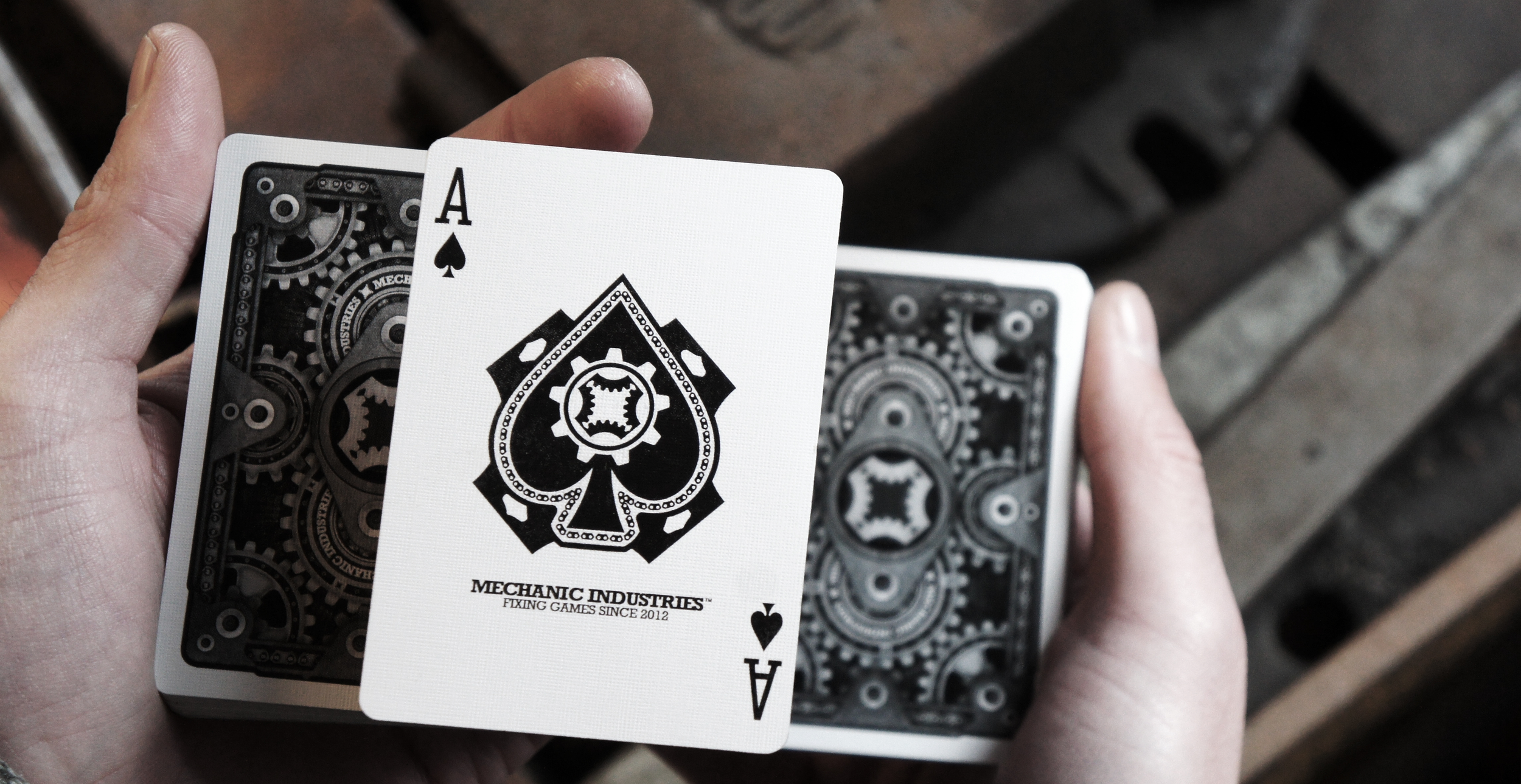 Mechanic Deck VR2 -  Ace of Spades