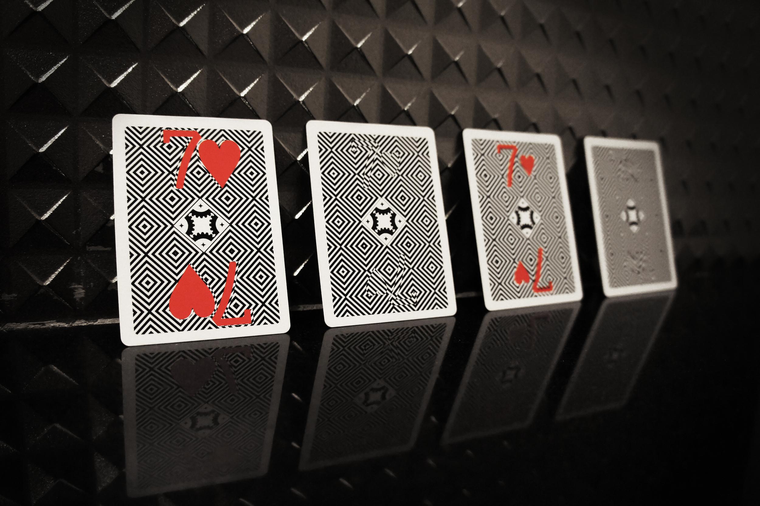 Optricks Deck Animated Gaff Cards