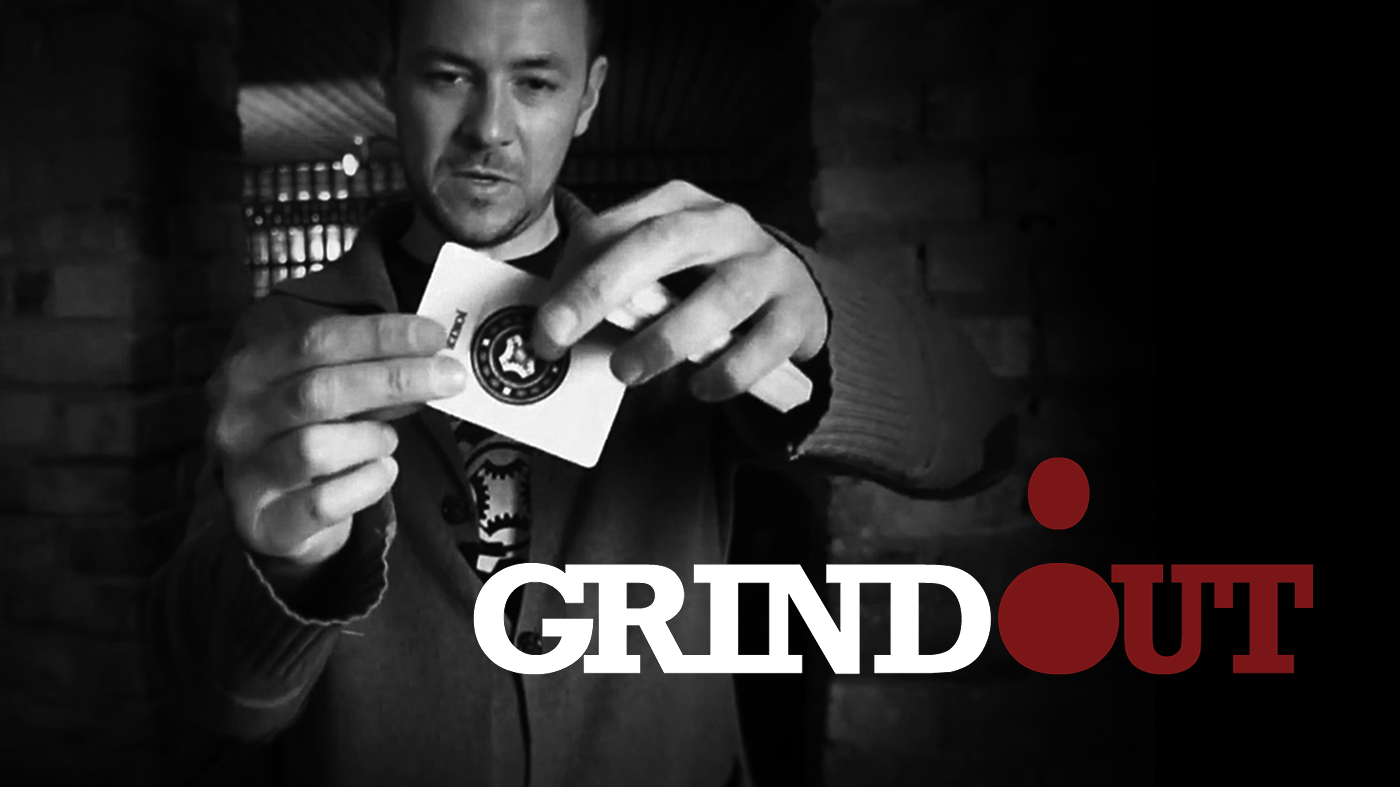 GRINDOUT    COIN & CARD COMBO    LEARN NOW