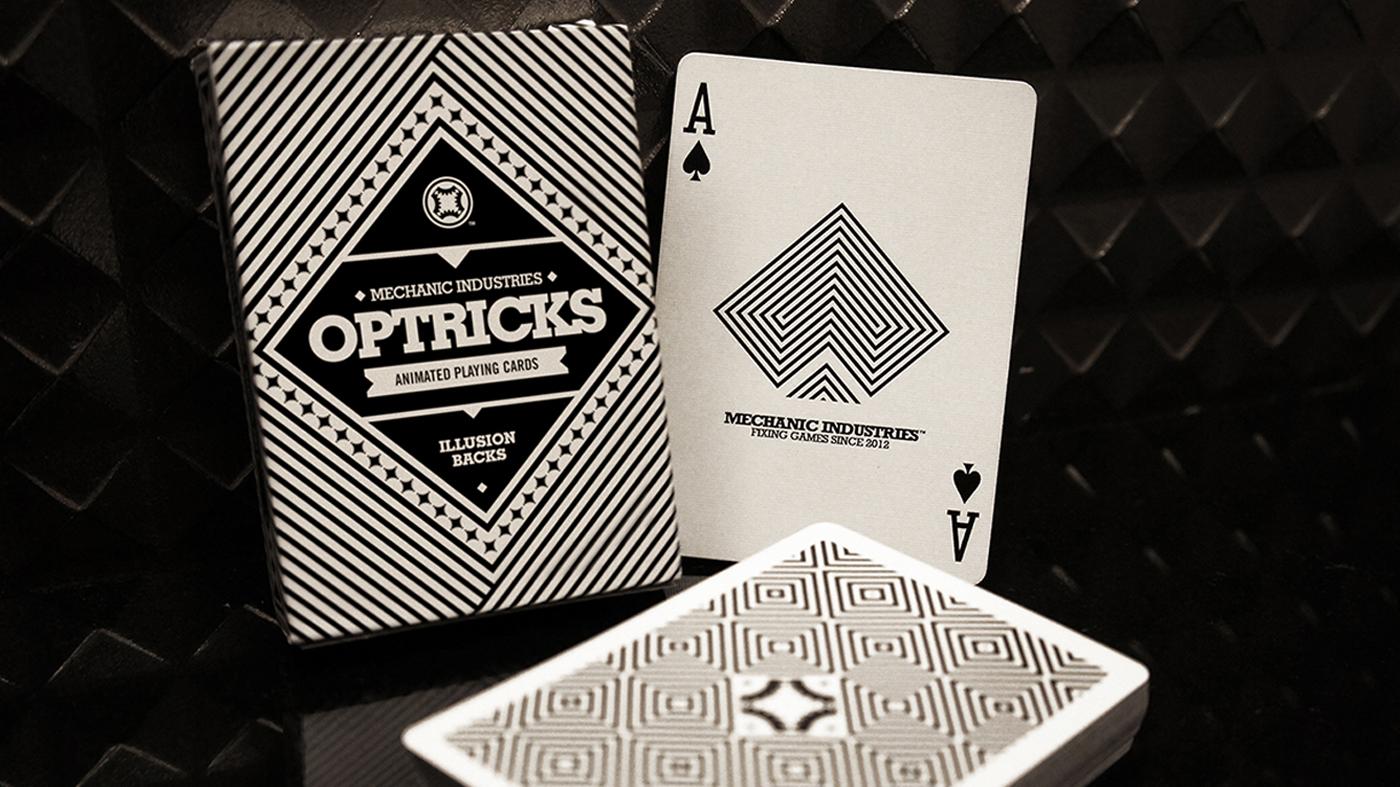 OPTRICKS DECK    FLIP-BOOK ILLUSION BACKS    VIEW DETAILS