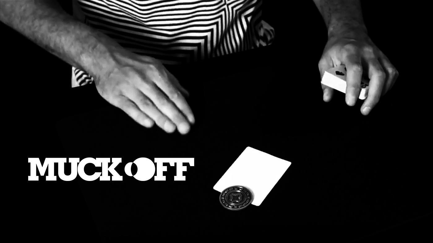 MUCK OFF    COIN & CARD COMBO  BUY NOW