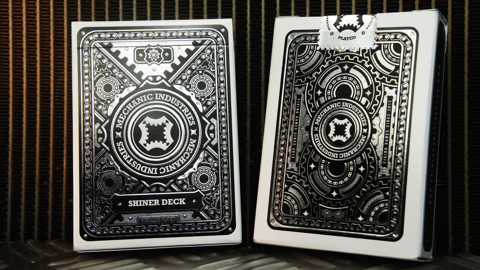 SHINER DECK    METALLIC PLATED    VIEW DETAILS