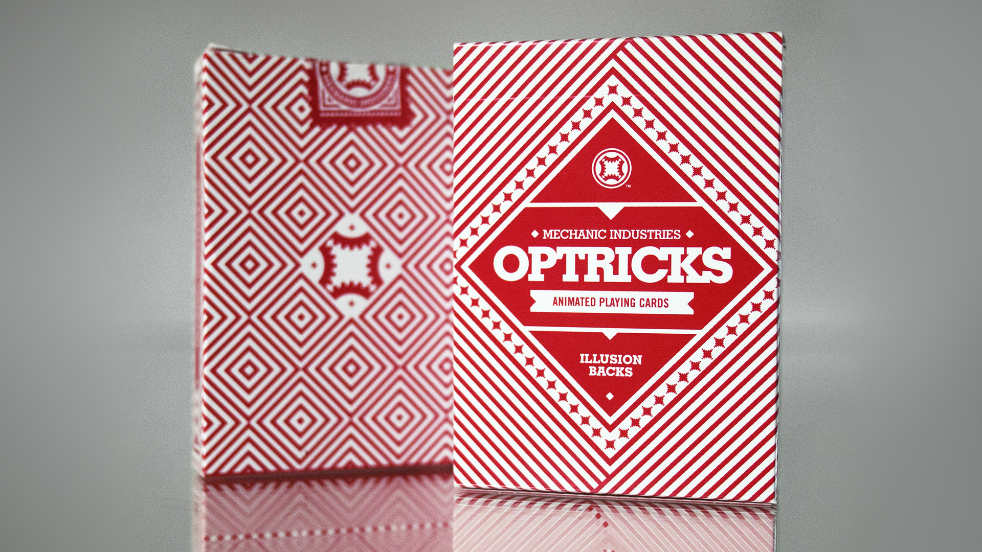 OPTRICKS RED    OPTICAL ILLUSION GAFF CARDS    VIEW DETAILS