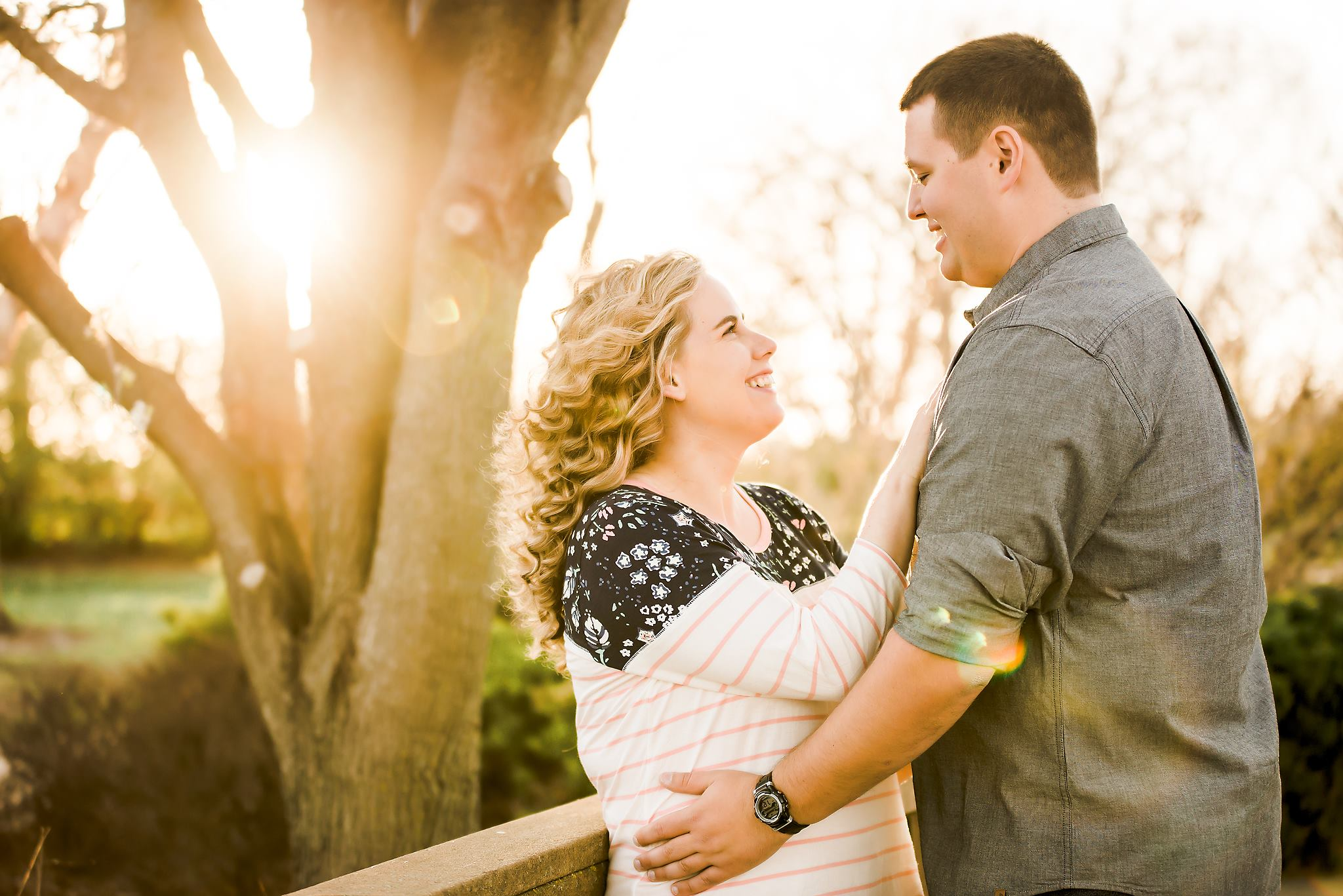 engagement session in Topeka ks