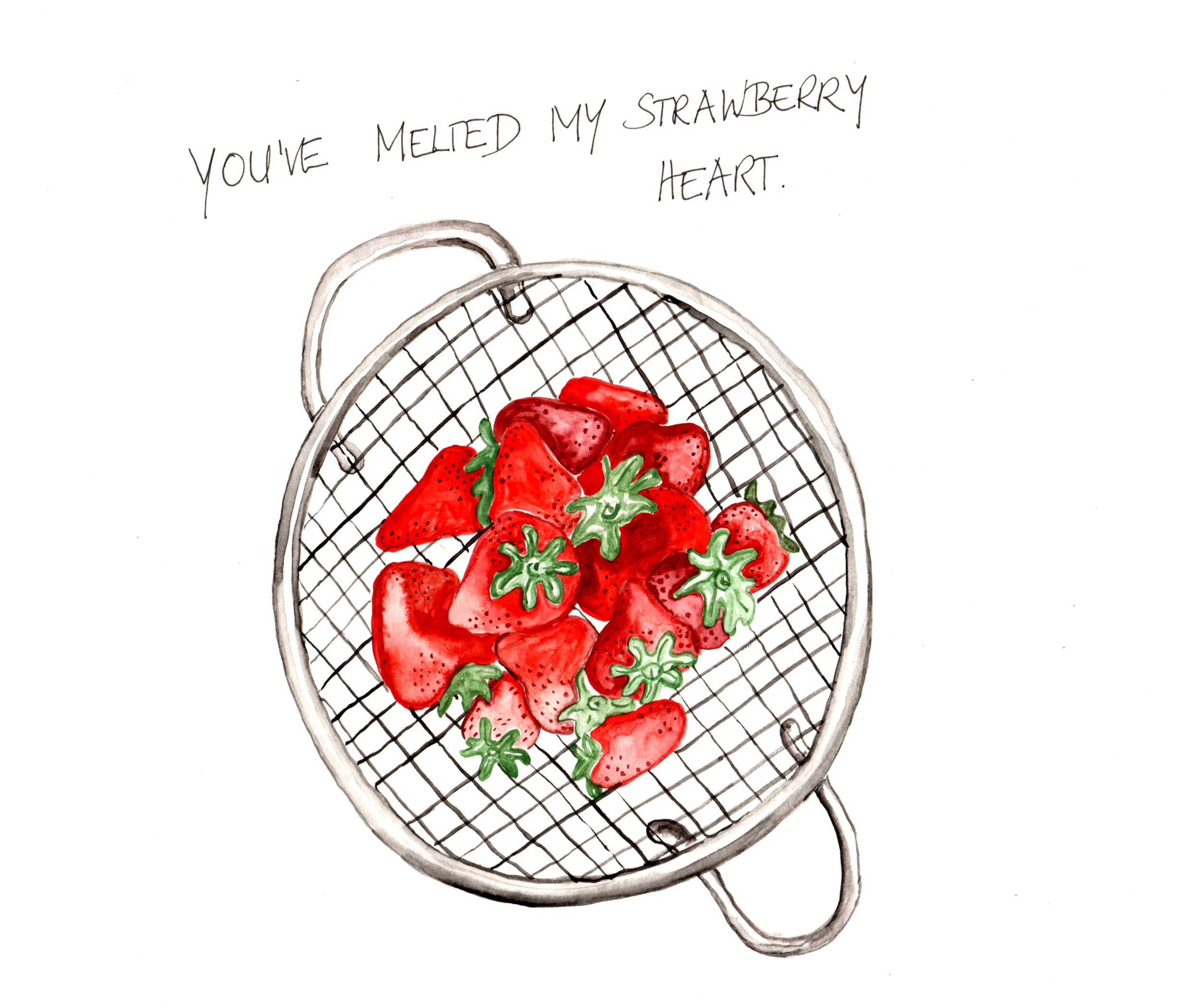 Strawberry Is A Verb