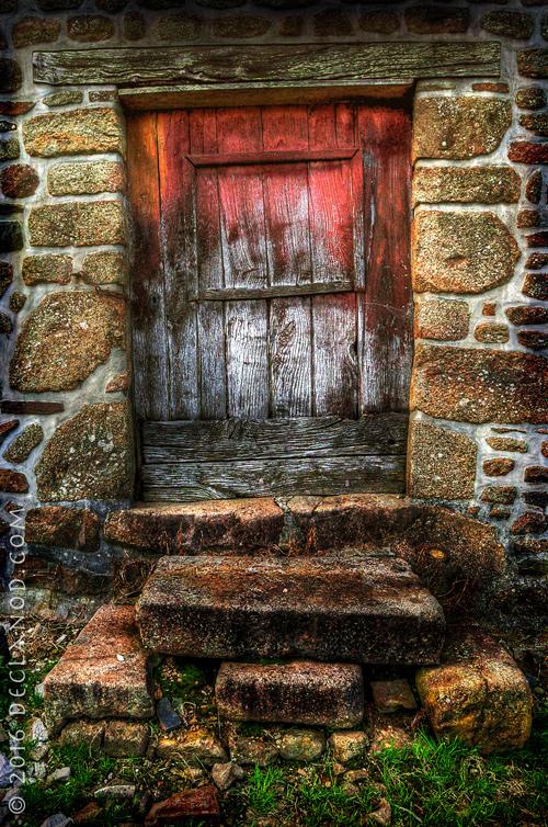Red Door At Buais