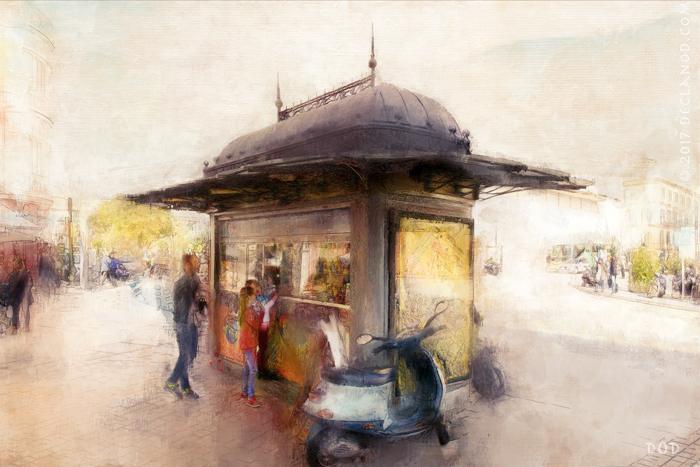 At The Kiosk - Malaga